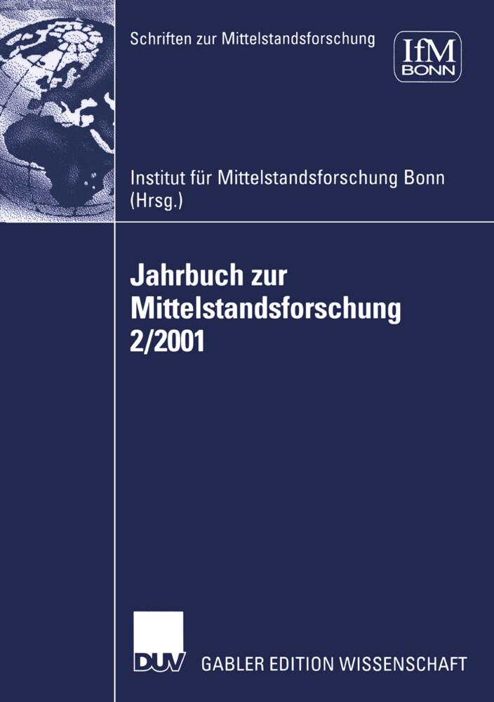 Jahrbuch zur Mittelstandsforschung 2/2001 als Buch
