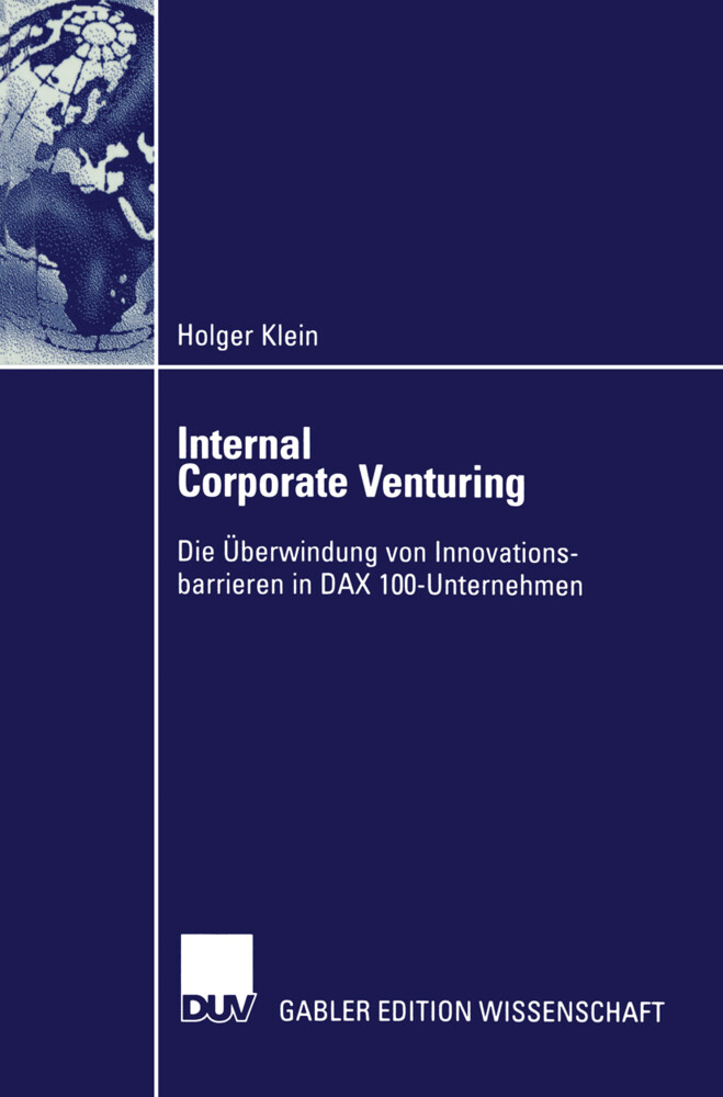 Internal Corporate Venturing als Buch