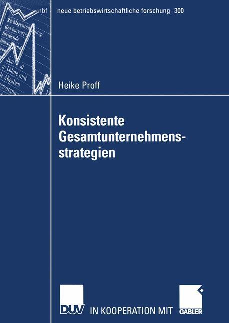 Konsistente Gesamtunternehmensstrategien als Buch