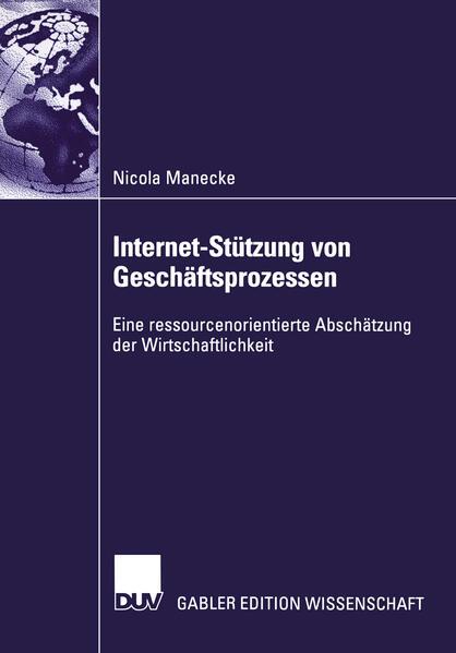 Internet-Stützung von Geschäftsprozessen als Buch