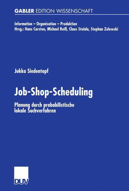 Job-Shop-Scheduling als Buch