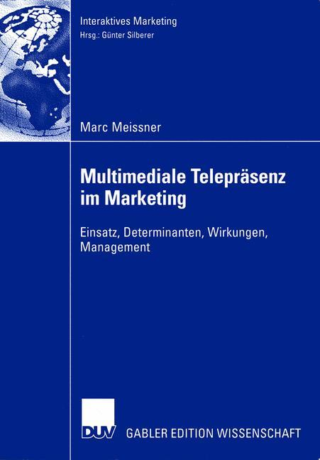 Multimediale Telepräsenz im Marketing als Buch