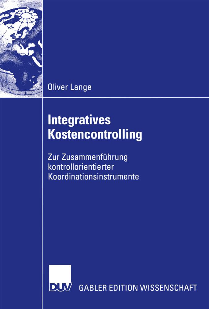 Integratives Kostencontrolling als Buch