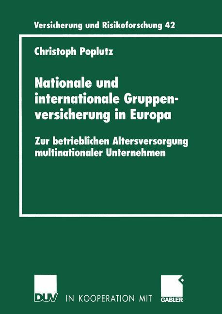 Nationale und internationale Gruppenversicherung in Europa als Buch