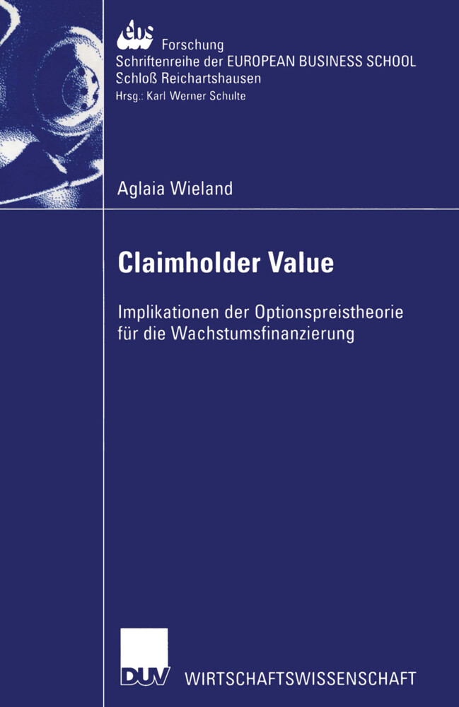 Claimholder Value als Buch