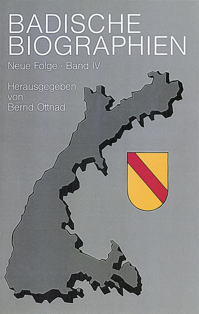 Badische Biographien - Neue Folge IV als Buch