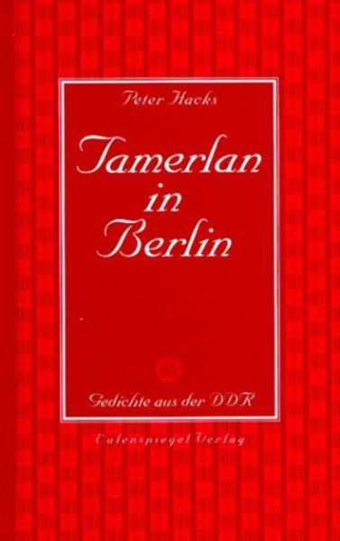 Tamerlan in Berlin als Buch