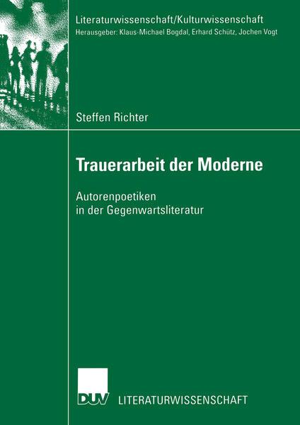 Trauerarbeit der Moderne als Buch