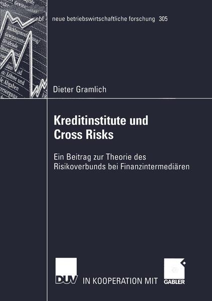 Kreditinstitute und Cross Risks als Buch