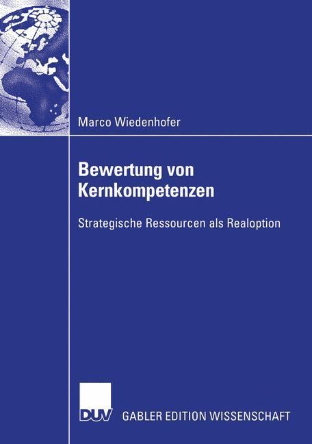 Bewertung von Kernkompetenzen als Buch