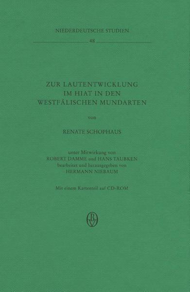 Zur Lautentwicklung im Hiat in den westfälischen Mundarten als Buch