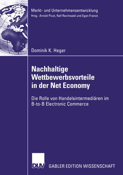 Nachhaltige Wettbewerbsvorteile in der Net Economy als Buch
