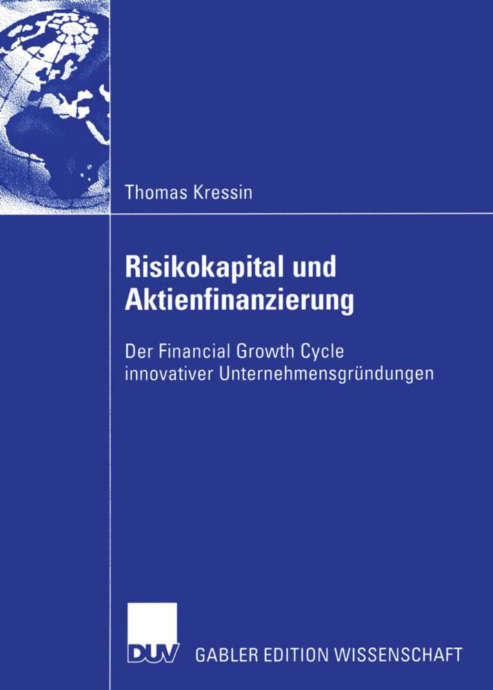 Risikokapital und Aktienfinanzierung als Buch