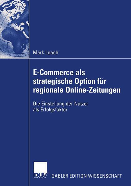 E-Commerce als strategische Option für regionale Online-Zeitungen als Buch