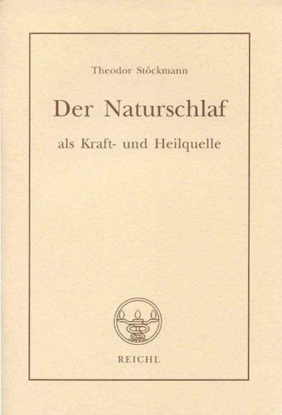 Der Naturschlaf als Kraft- und Heilquelle als Buch