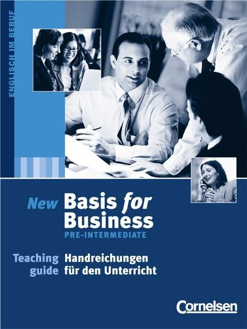 Basis for Business: Pre-Intermediate - Teaching Guide als Buch