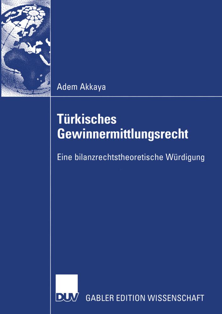 Türkisches Gewinnermittlungsrecht als Buch