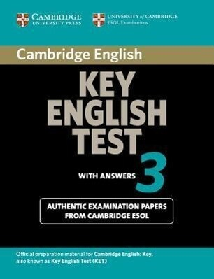 Cambridge Key English Test 3 Student's Book with Answers als Taschenbuch