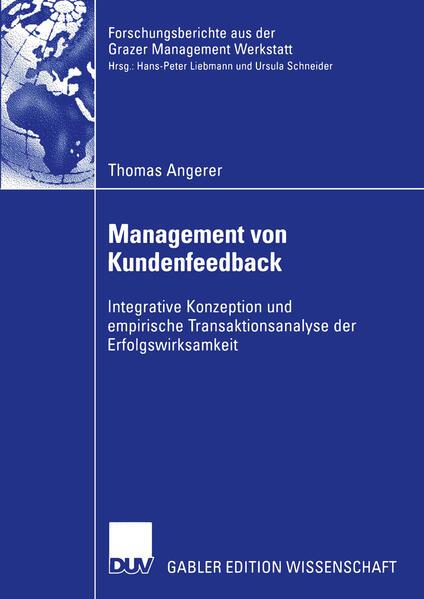 Management von Kundenfeedback als Buch