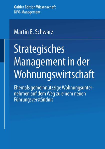 Strategisches Management in der Wohnungswirtschaft als Buch