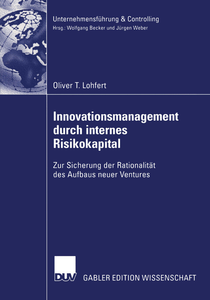 Innovationsmanagement durch internes Risikokapital als Buch
