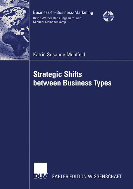 Strategic Shifts between Business Types als Buch