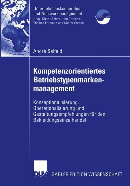 Kompetenzorientiertes Betriebstypenmarkenmanagement als Buch