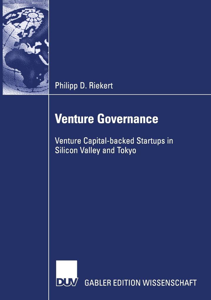 Venture Governance als Buch