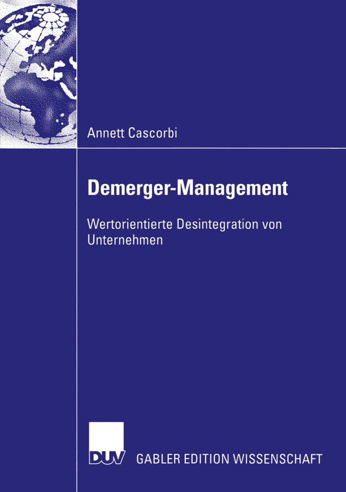 Demerger-Management als Buch