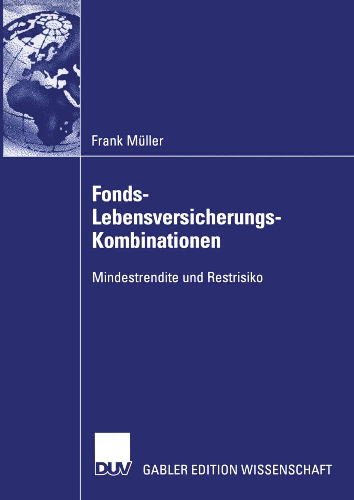 Fonds-Lebensversicherungs-Kombinationen als Buch