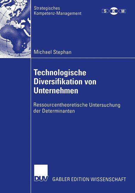 Technologische Diversifikation von Unternehmen als Buch