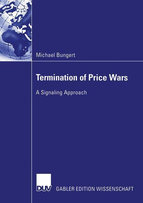 Termination of Price Wars als Buch