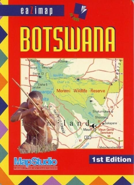 Botswana Eazymap 1 : 2 550 000 als Buch