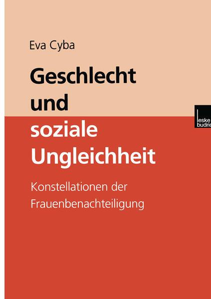 Geschlecht und soziale Ungleichheit als Buch