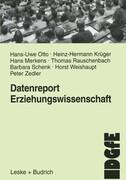 Datenreport Erziehungswissenschaft