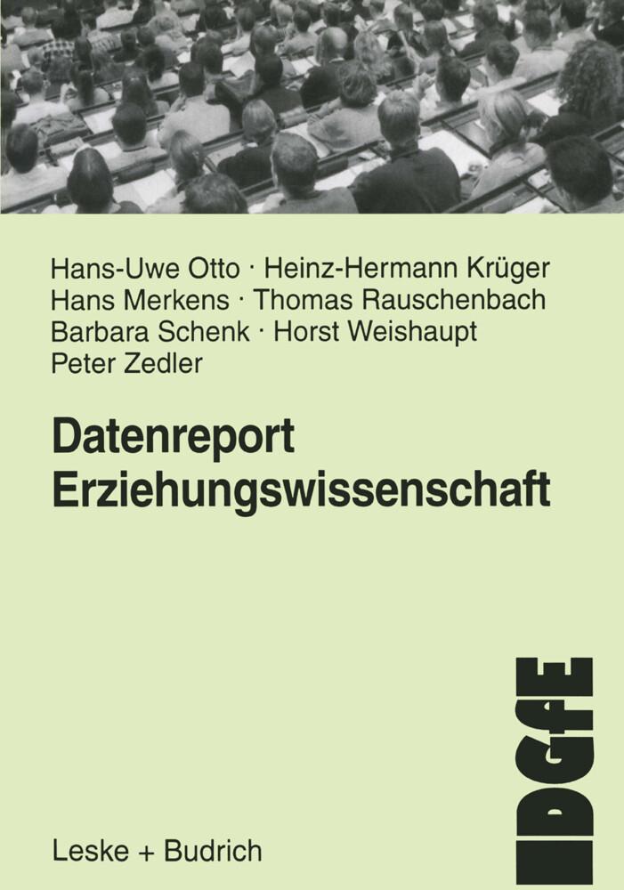Datenreport Erziehungswissenschaft als Buch