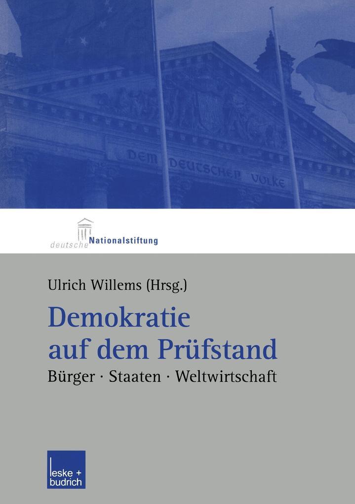 Demokratie auf dem Prüfstand als Buch