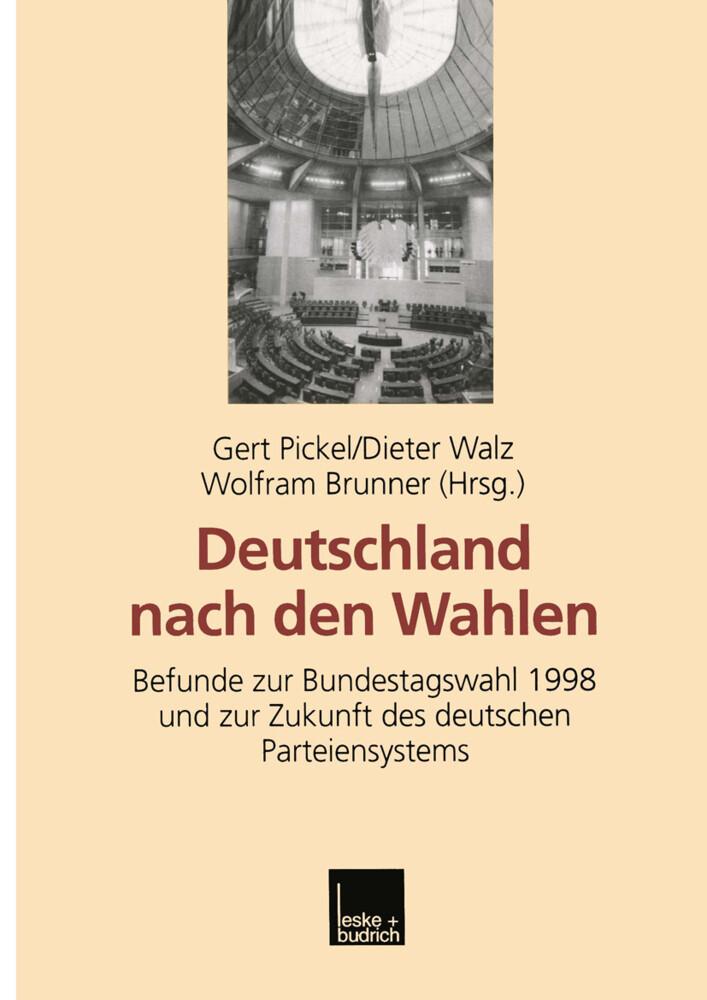 Deutschland nach den Wahlen als Buch