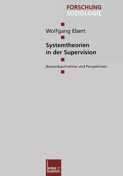 Systemtheorien in der Supervision als Buch