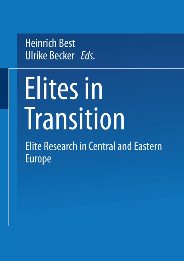 Elites in Transition als Buch