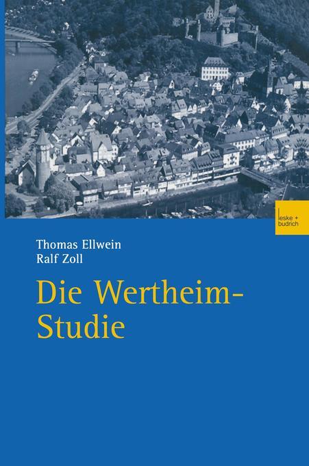 Die Wertheim-Studie als Buch
