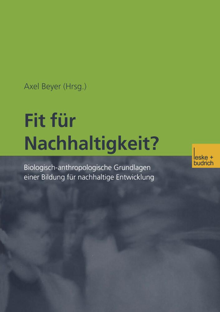Fit für Nachhaltigkeit? als Buch