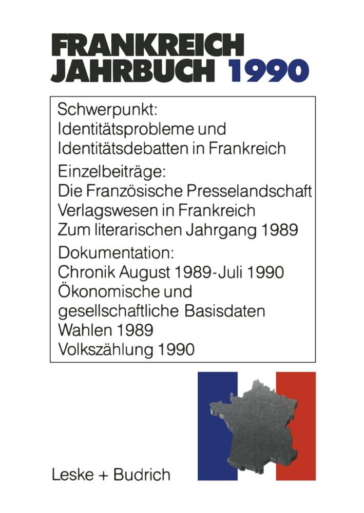 Frankreich-Jahrbuch 1990 als Buch