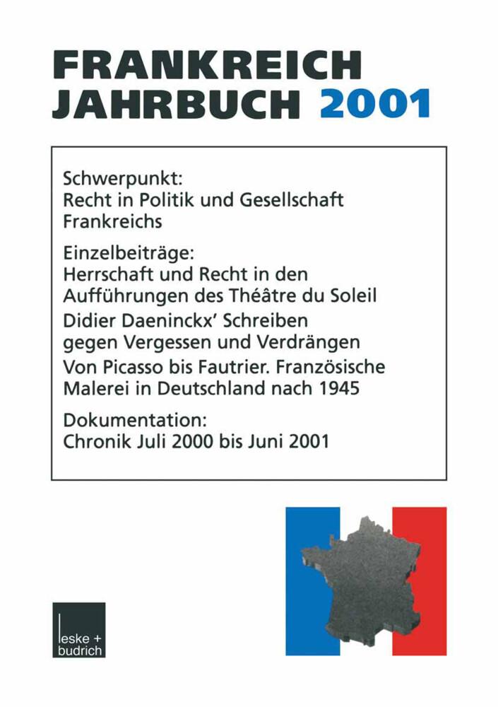 Frankreich-Jahrbuch 2001 als Buch