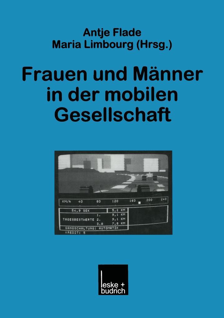 Frauen und Männer in der mobilen Gesellschaft als Buch