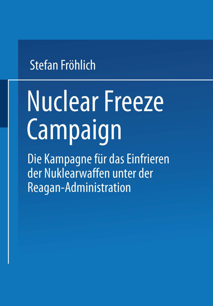 Nuclear Freeze Campaign als Buch