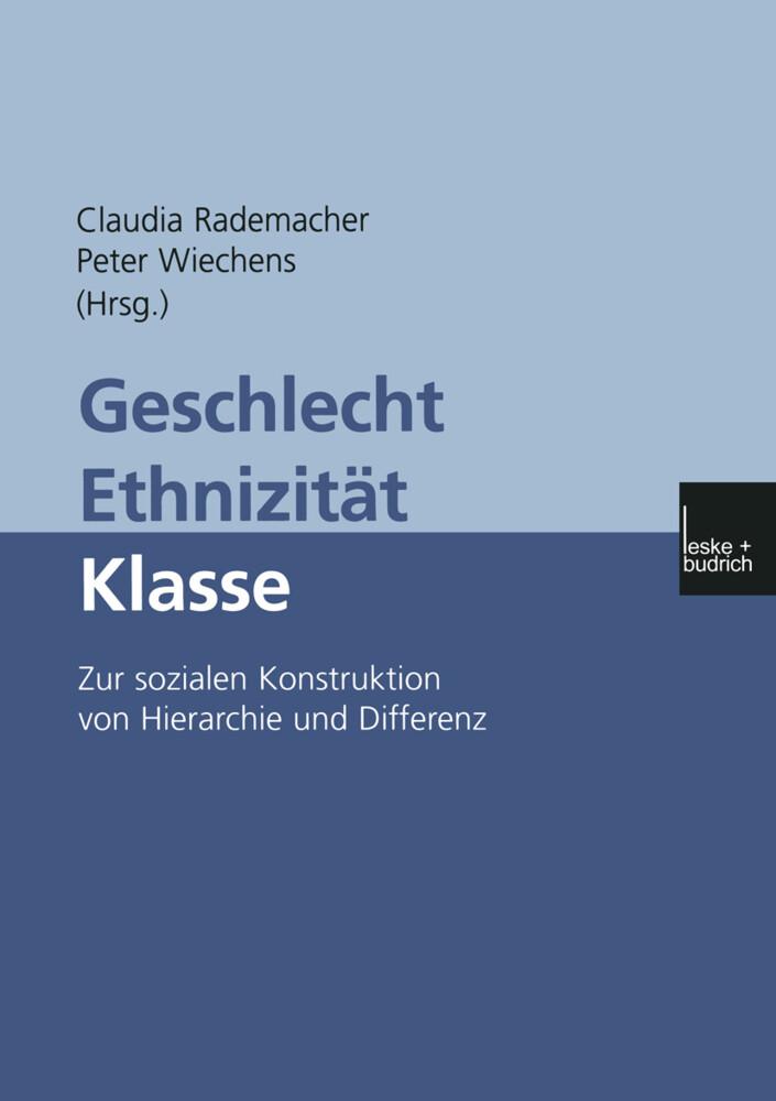 Geschlecht - Ethnizität - Klasse als Buch