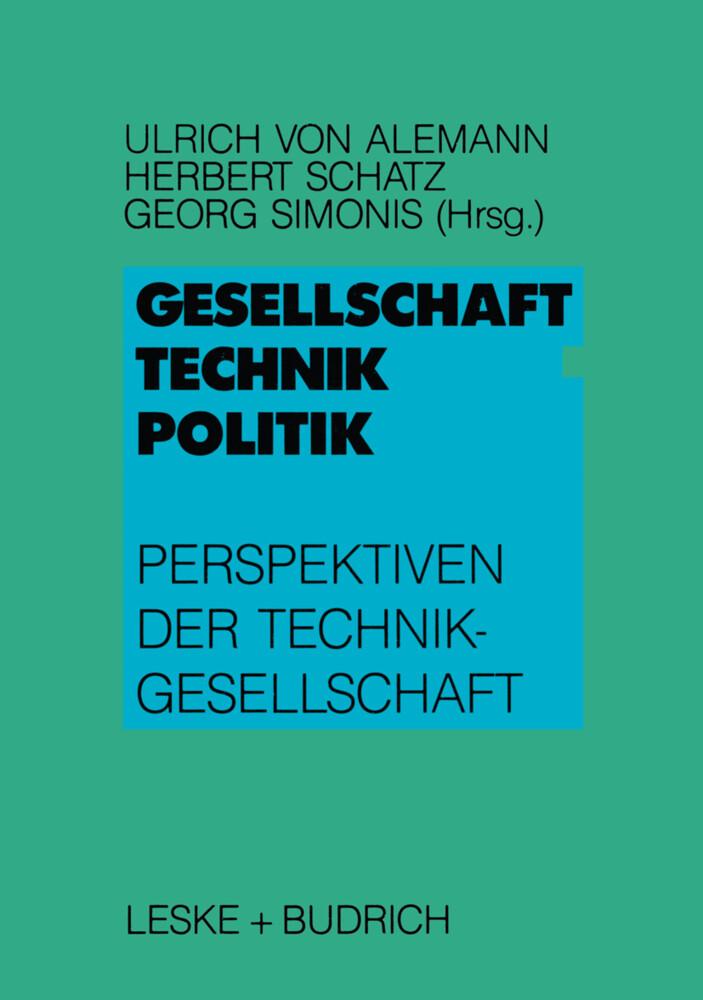 Gesellschaft - Technik - Politik als Buch