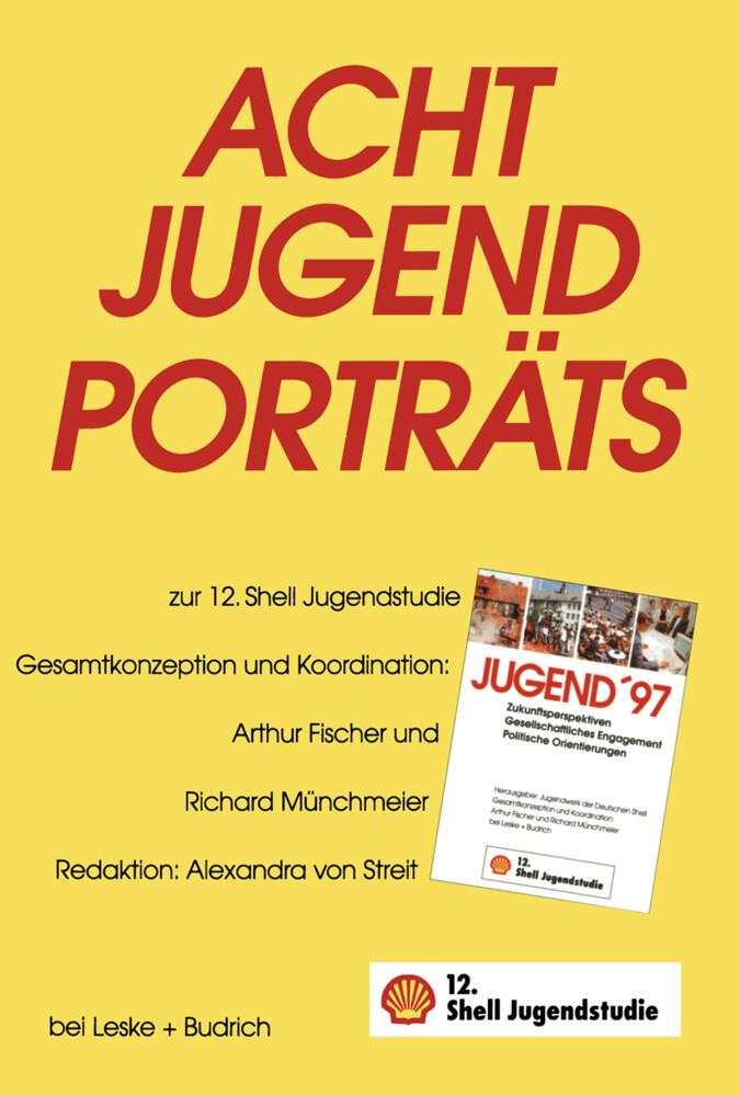 Acht Jugendporträts als Buch