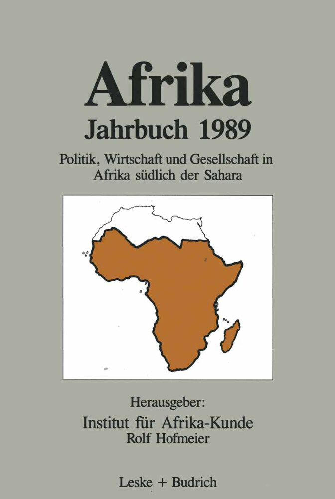 Afrika Jahrbuch 1989 als Buch